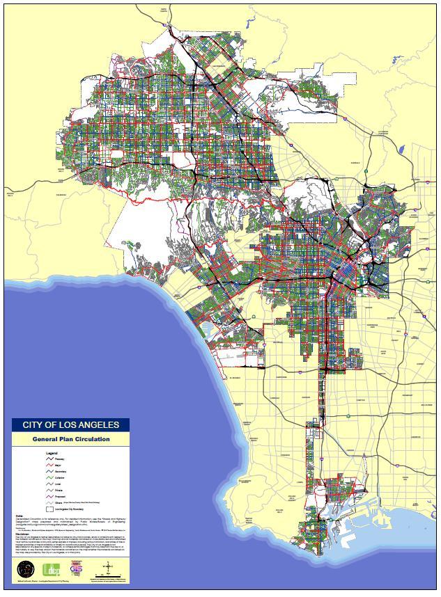CSN I- Gen Plan Circulation Map