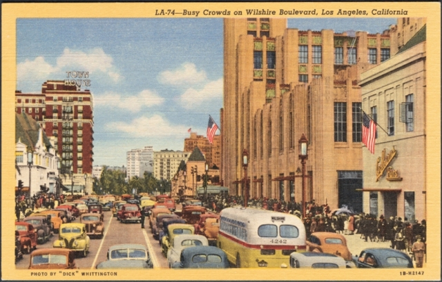Wilshire Blvd in Westlake, looking east Photo Credit: Metro Transportation Library and Archive