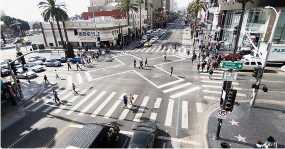 HollywoodHighlandScrambledCrosswalk